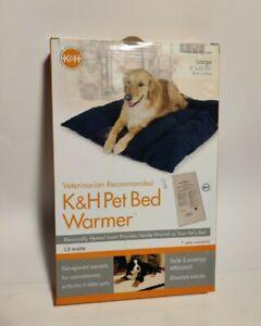 "K&H Pet Products Pet Bed Warmer  New Large 13 watts, 11""W x 23"" L"