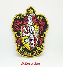 Harry Potter GRYFFINDOR Crest Iron Sew on Embroidered Patch #1169