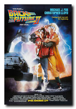 Back To The Future II 2 Classic Movie Poster Print A0 A1 A2 A3 A4 Maxi