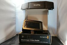 "Blackmagic Design Video Assist 5"" HDR Monitor 6G w/ extras!"