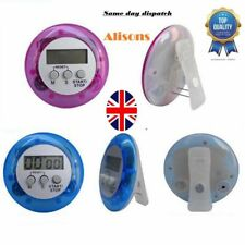 Digital Kitchen Timer Magnetic Belt Pocket Clip LCD Chef Restaurant Egg Counter