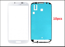 Samsung Galaxy S4 Front Glass lens Screen Replacement Plus Custom Adhesive 10pcs