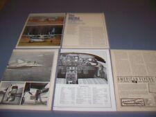 VINTAGE..AERO COMMANDER 500A...HISTORY/PHOTOS/DETAILS/SPECS..RARE! (603N)