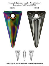 Genuine Swarovski 6480 Crystal Spike Pendants – All Colours and Sizes