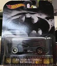 Hot Wheels Retro Entertainment- Batman Retuns - Batmobile!Free Shipping!