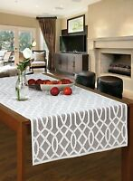 "Rectangular white, lace tablecloth / table runner NEW 60 x 140 cm (24"" x 55"")"