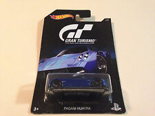 Hot Wheels Gran Turismo Pagani Huayra Supercar 1:64 Blue Diecast Model Car