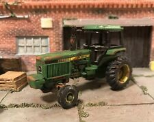 John Deere Rusty Weathered Custom 1/64 Diecast Farm Tractor Barn Find Dirty Rust