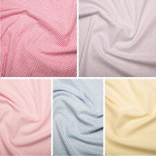 CRINKLED EFFECT MELANGE THIN POLYCOTTON FABRIC-4 COLOURS-SOLD BY THE METRE