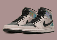 Nike Air Jordan 1 Mid Women's Iridescent BQ6472-602 Size 9