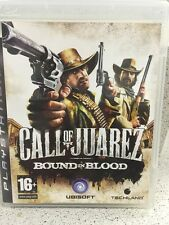 CALL OF JUAREZ BOUND IN BLOOD. JEUX PS3 AVEC NOTICE PLAYSTATION