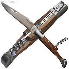 Baladéo Laguiole Taschenmesser mit Korkenzieher Zebrawood-Griffschalen