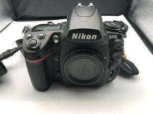 Nikon D700 12.1MP Digital SLR Camera - Black,  LOW Shutter Count!! NO RESERVE!