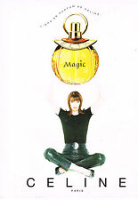 PUBLICITE ADVERTISING  1996   EAU DE PARFUM    MAGIC de   CELINE          090513