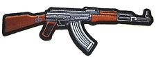 """***AK 47*** """"Pointing Right""""...  Pro Gun Biker Patch P1564 E"""