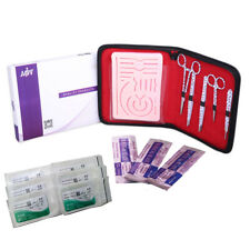 Complete Suture Practice Kit With Neuro Surgery Pad For Students Suture Training