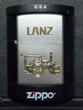 Zippo Sturmfeuerzeug Lanz Bulldog Trecker Gravur