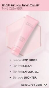 Mary Kay TimeWise® Age Minimize 3D 4-in-1 Cleanser Normal/Dry Expires 04/23 New