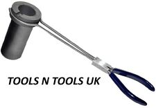 """HIGH QUALITY TONGS CRUCIBLE HOLDER HANDLE FOR CRUCIBLE POURING TONG HOLDER 13"""""""