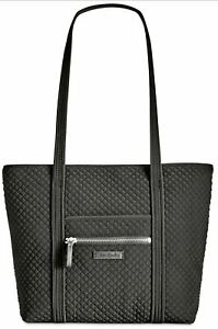 Vera Bradley Tote Bag Black Lined Quilted Small NEW🔥