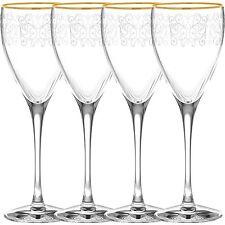 Noritake Odessa Gold Goblets, Set of 4
