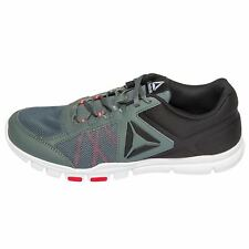 Reebok Memorytech YOURFLEX TRAIN Black/Grey/Red Running Shoe's Men's US 12