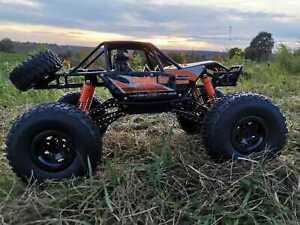 RC 2,4 Ghz. Allrad Rock Crawler X-WARRIOR Ferngesteuertes Auto Monster Truck NEU