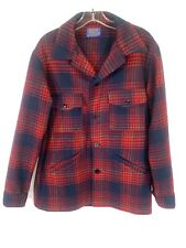 Pendleton Size M Men's Plaid Chore Coat Wool Work
