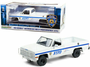 1:18th NYPD CHEVROLET CUCV M1008 New York City Police pick up GREENLIGHT 13561