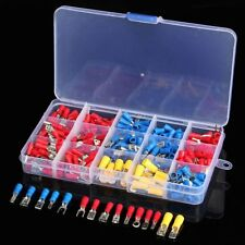280 ASSORTED INSULATED ELECTRICAL WIRE TERMINALS CRIMP CONNECTORS SPADE KIT