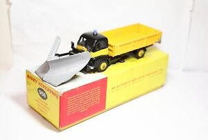 Dinky 958 Guy Warrior Snow Plough In Its Original Box - Good Vintage Model