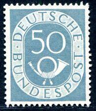 BUND 1951 134 ohne Gummi ABART Farbpunkte am U von BUNDES (A8902