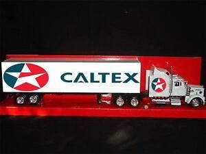 Custom caltex kenworth 1/43 scale petrol truck petroleum