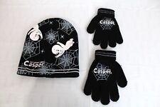 The Friendly Ghost Casper Halloween Kids Winter Toque and Matching Winter Gloves