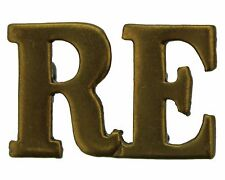Original Single Royal Engineers RE Corps Shoulder Title - CHOOSE YOUR QUANTITY!
