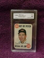 GREAT CARD 1968 TOPPS#9 GAME CARD BROOKS ROBINSON GRADED CARD BY GMA 4