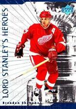 1998-99 Upper Deck Lord Stanleys Heroes #4 Brendan Shanahan