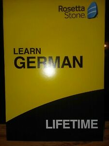Rosetta Stone GERMAN Lifetime Subscription