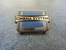 RARE PINS PIN'S - CINEMA SYSTEM TOSHIBA - SON - AUDIO - NF- ZAMAC - STARPIN'S