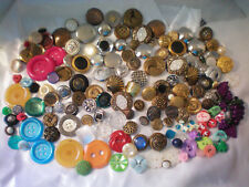 Lot of Vintage BUTTONS Mixed