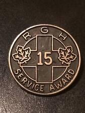 Vintage R.G.H. service award Sterling silver pin