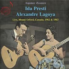 Ida Presti - Ida Presti/Alexandre Lagoya  [Ida Presti; Alexandre Lagoya] [CD]
