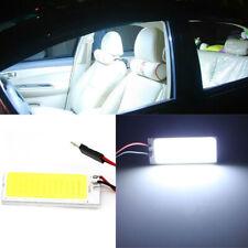 2pcs T10 12V COB Car Interior Panel Lamp Dome Map LED Light Bulbs w/ 3 Adapter