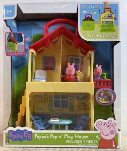 Peppa Pig Pop n' Play House Brand New Sealed