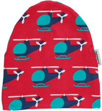 *NEW* Maxomorra - Chopper - Hat Organic Cotton Winter Hat - 2 months