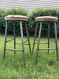 Commercial Bar Stools- 30in. Made By Crow Works. 13 Available.LOCAL PICK UP Only