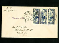 US First Day Air Mail Stamp Cover #C10a