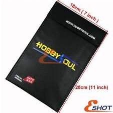 7''x11'' Fire proof pouch Money Document safe bag Fire Water Resistant material
