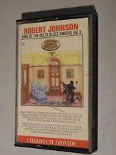 Robert Johnson King of the Delta Blues Singers Vol II Rare CrO2 Cassette MONO