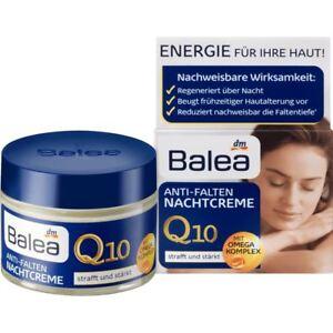 Balea Q 10 Anti-Wrinkle Night Cream 50 ml with Omega Complex
